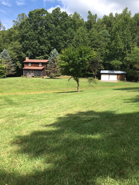 Land and cabin for sale in Franklin County, VA